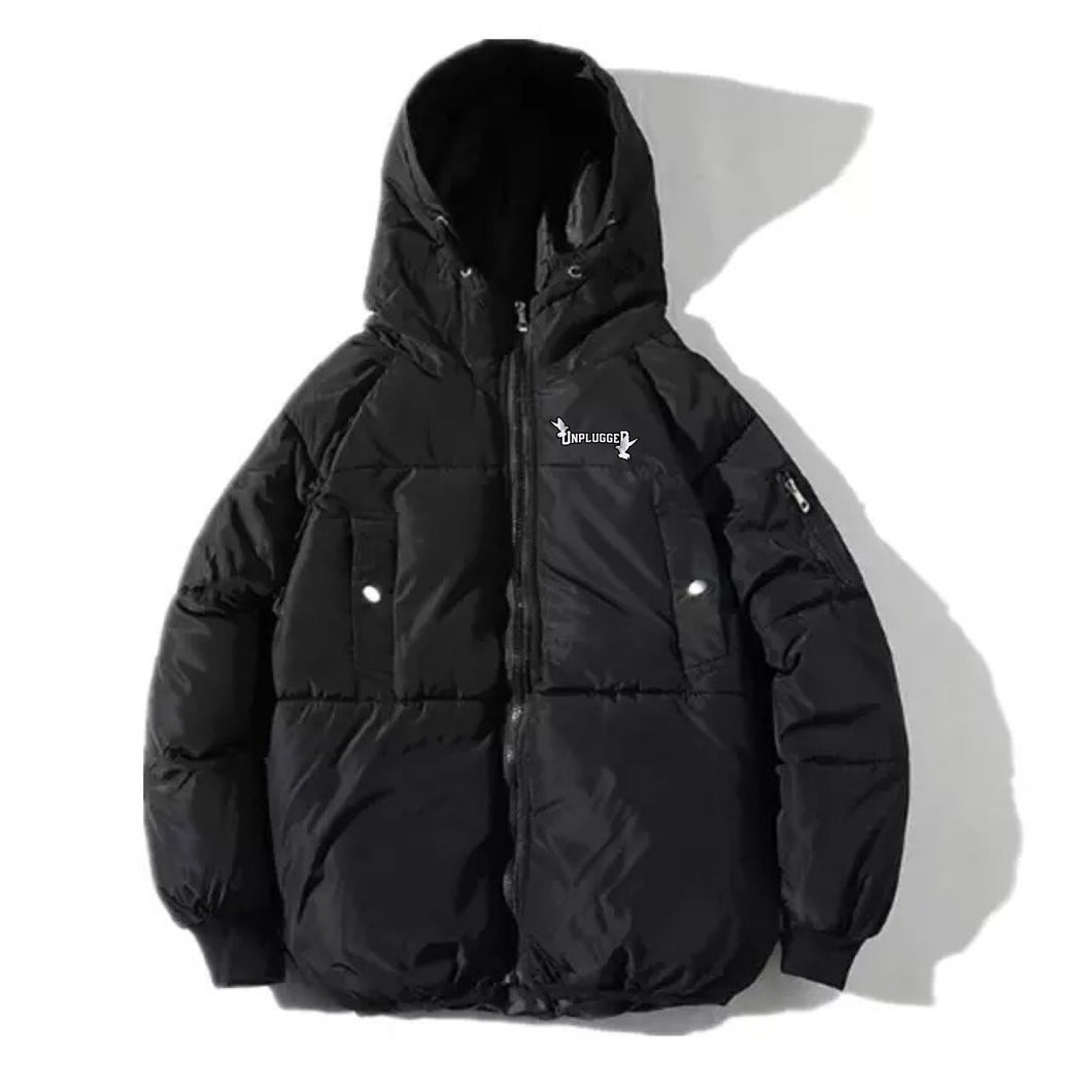 SPACE CADET COAT (MOON ROCK BLACK)