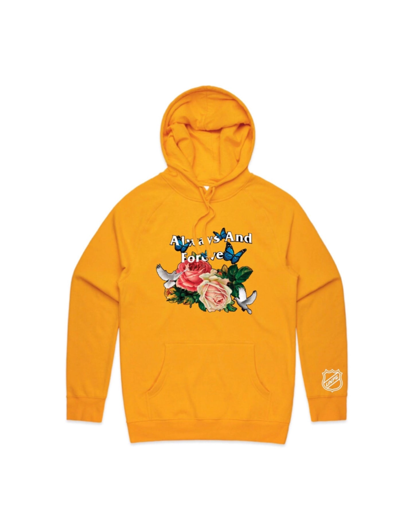 ALWAYS AND FOREVER HOODIE (GOLD)