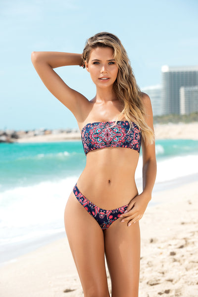 Bluemoon Printed Two Piece Bikini