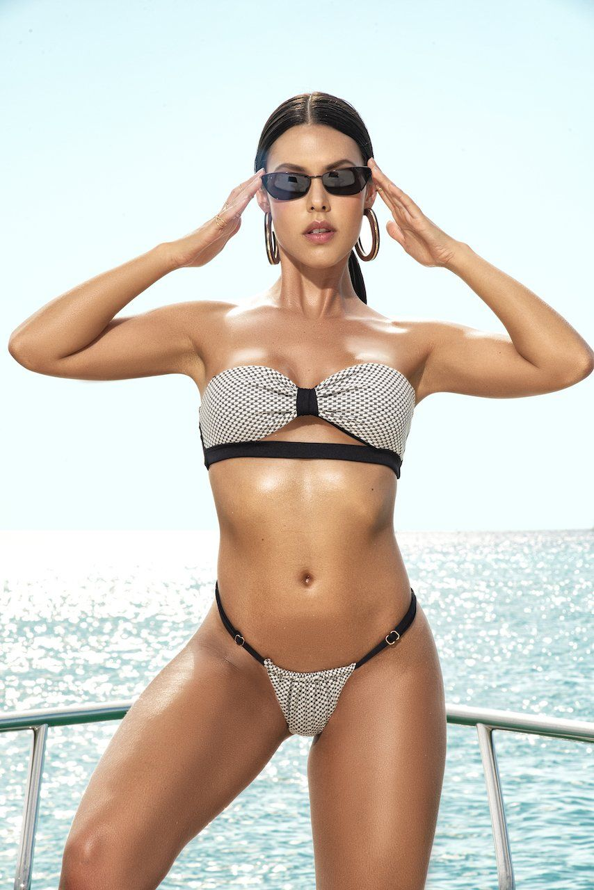 Chic Summer Two Piece Swimsuit