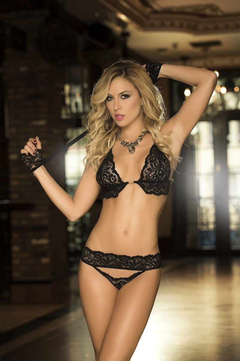 Captiva Bra & Thong Panty - PIRATA COUTURE