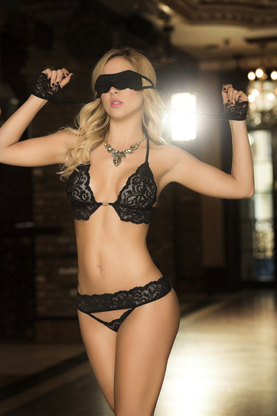 Captiva Bra & Thong Panty Lingerie- PIRATA COUTURE