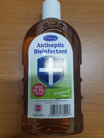 Dr Johnson Antiseptic Disenfectant 500ml
