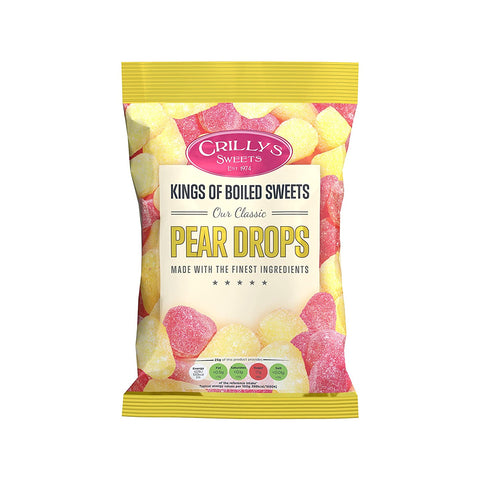 Crillys Sweets Pear drops 200g