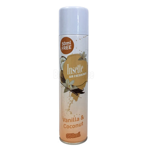 Insette Air Freshener Vanilla And Coconut