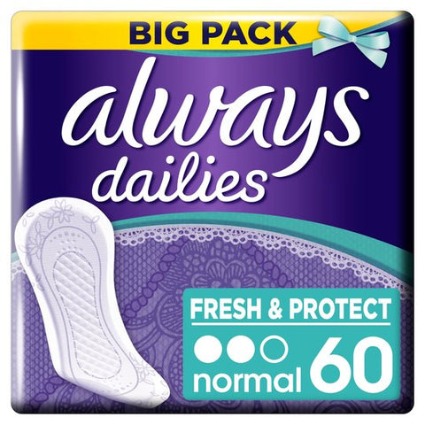 Always Dailies Fresh&Protect Big Pack Normal