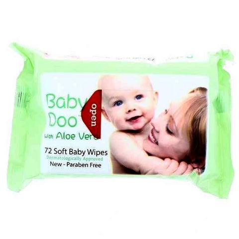 Baby Doo Wipes Aloe Vera ( Green )