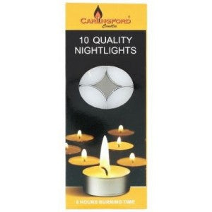 Carlingford 10 Nightlights Tealights