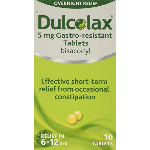 Dulcolax Constipation Relief 10 Tablets