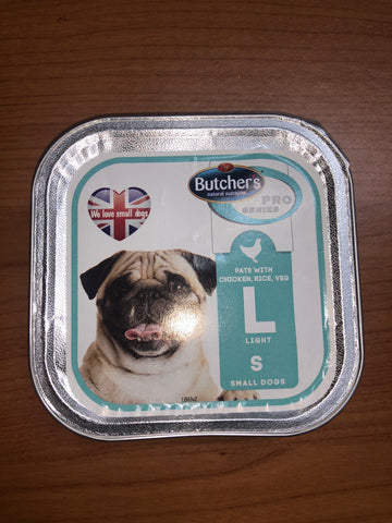 Butchers Pro Series Pate with Chicken, Rice, Veg 150G