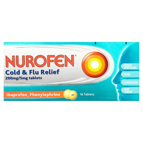 Nurofen Cold And Flu Relief 200MG