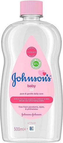 Johnson Baby Oil