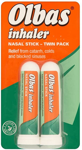 Olbas Inhaler Nasal Stick Twin Pack