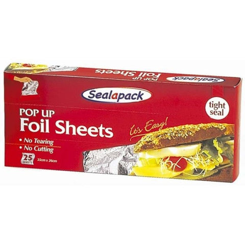 Sealapack Pop Up Foil Sheets 20 Sheets