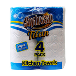 Titan 4 Pack Kitchen Towel