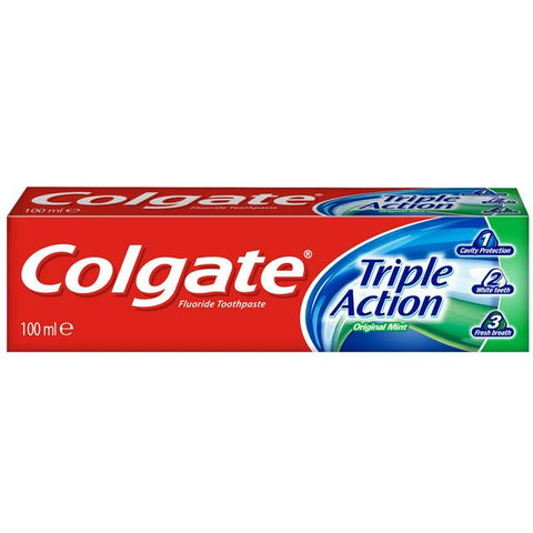 Colgate Toothpaste Triple Action
