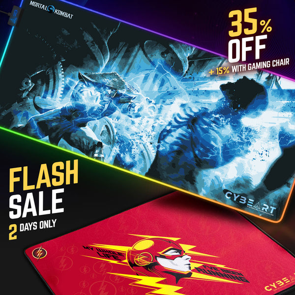 Cybeart Mousepad Flash Sale