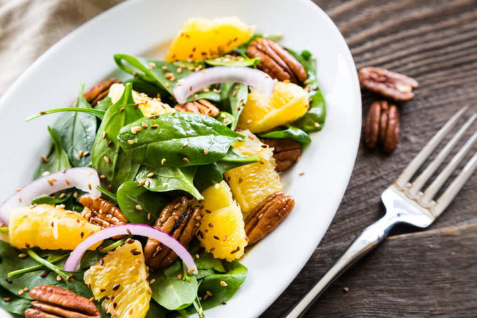RECIPE: Spring Citrus Salad with Firekracker Pecans