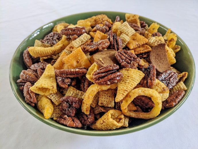RECIPE: Ridiculous Chex Mix, a Chef Eric original with Nutkrack or Firekracker!