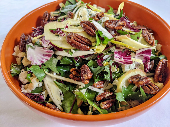 RECIPE: Chicory Salad with Nutkrack and Blue Cheese