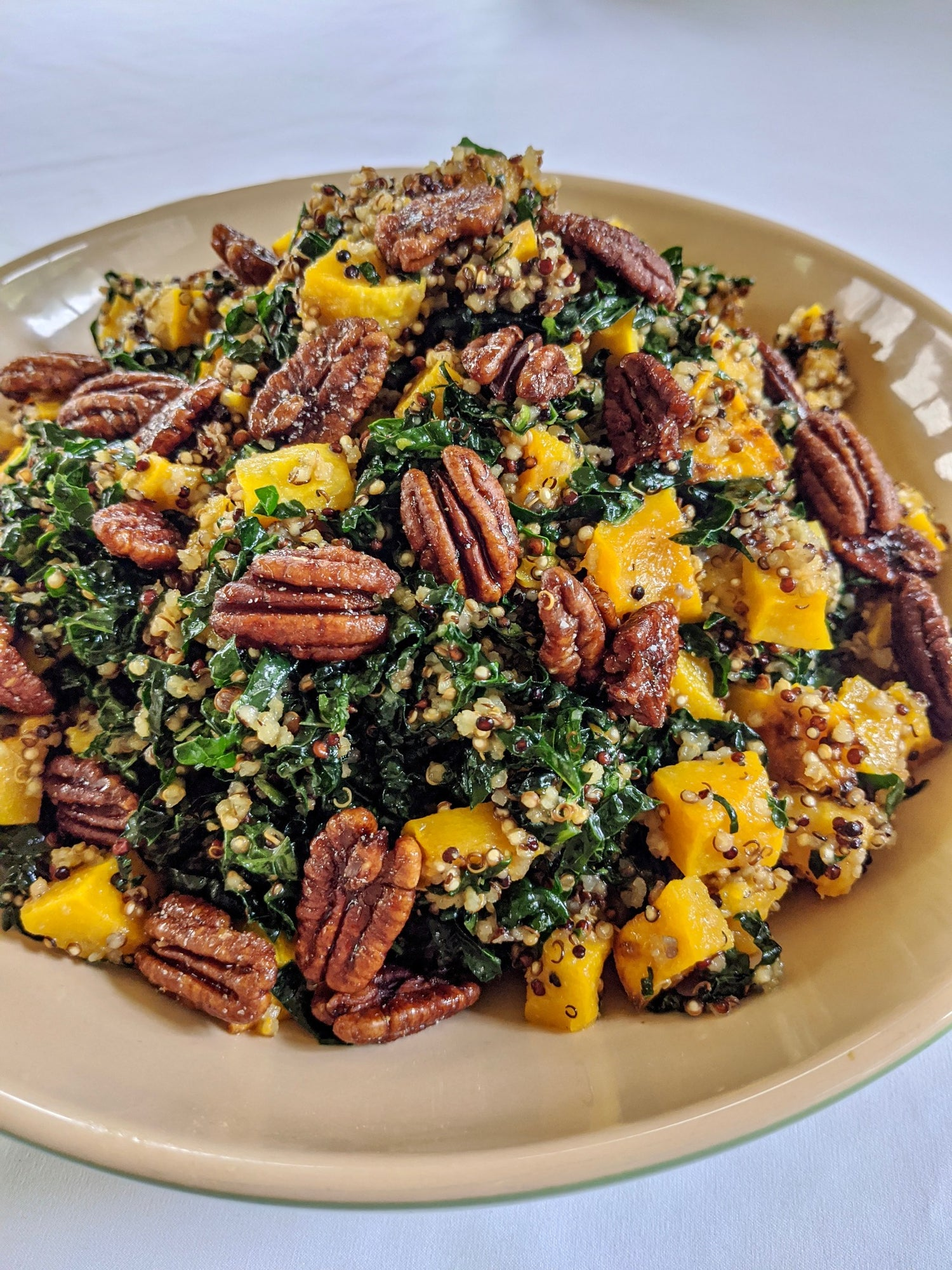 RECIPE: Nutkrack Kale Quinoa Salad with Roasted Butternut Squash
