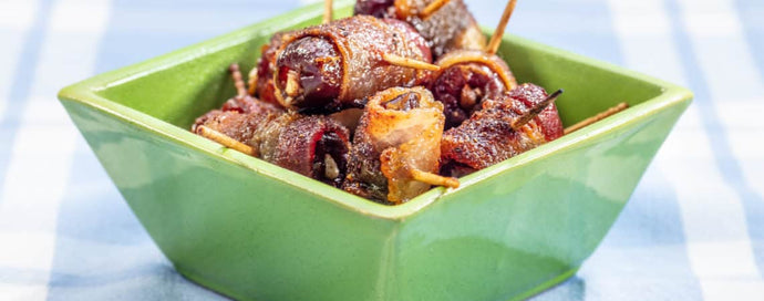 RECIPE: Nutkrack Stuffed Bacon Wrapped Dates (GF)