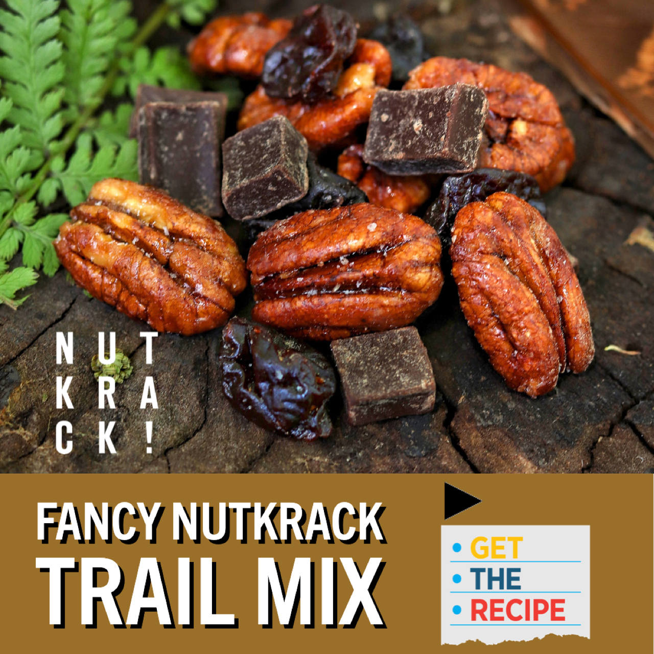 RECIPE: Nutkrack Trail Mix-Candied Pecans in the wild!