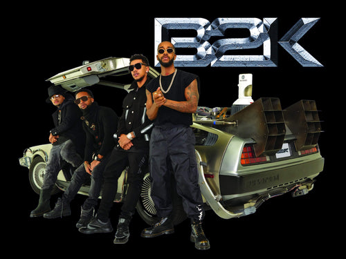 Limited Edition B2K Black Poster - Band with Delorean