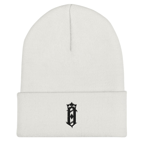 O Crown Beanie White
