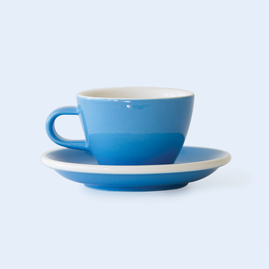 CAPPUCCINO FLAT WHITE 15CL PORCELAIN CUP & SAUCER | ACME