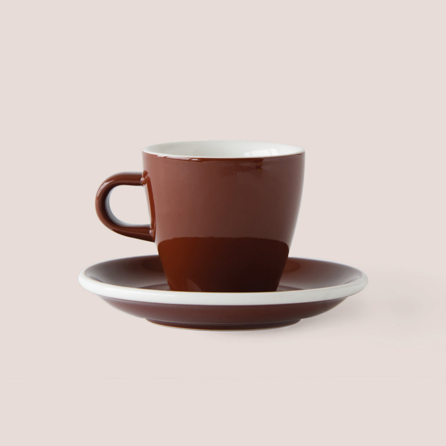 CAPPUCCINO EVO TULIP 17 CL PORCELAIN CUP & SAUCER | ACME