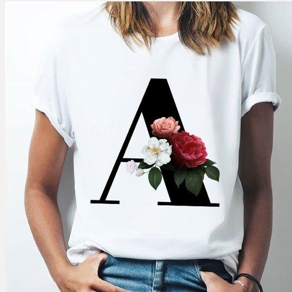 Vogue Alphabet Tees