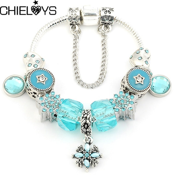 Crystal Beads Charm Bracelets (Collection 1)