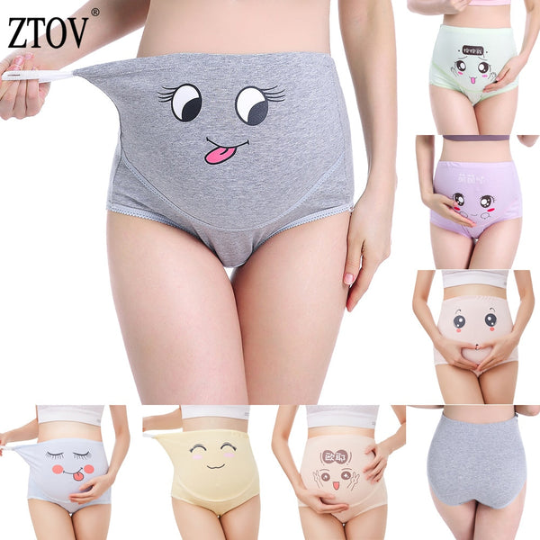 High Waist Maternity Panties