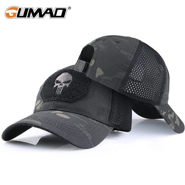 Skull Tactical Military Airsoft Cap