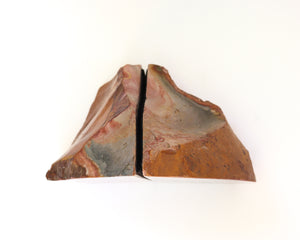 Desert Jasper Solid Bookends - Anza Studio
