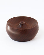 'The Mini' Walnut Incense Holder - Anza Studio