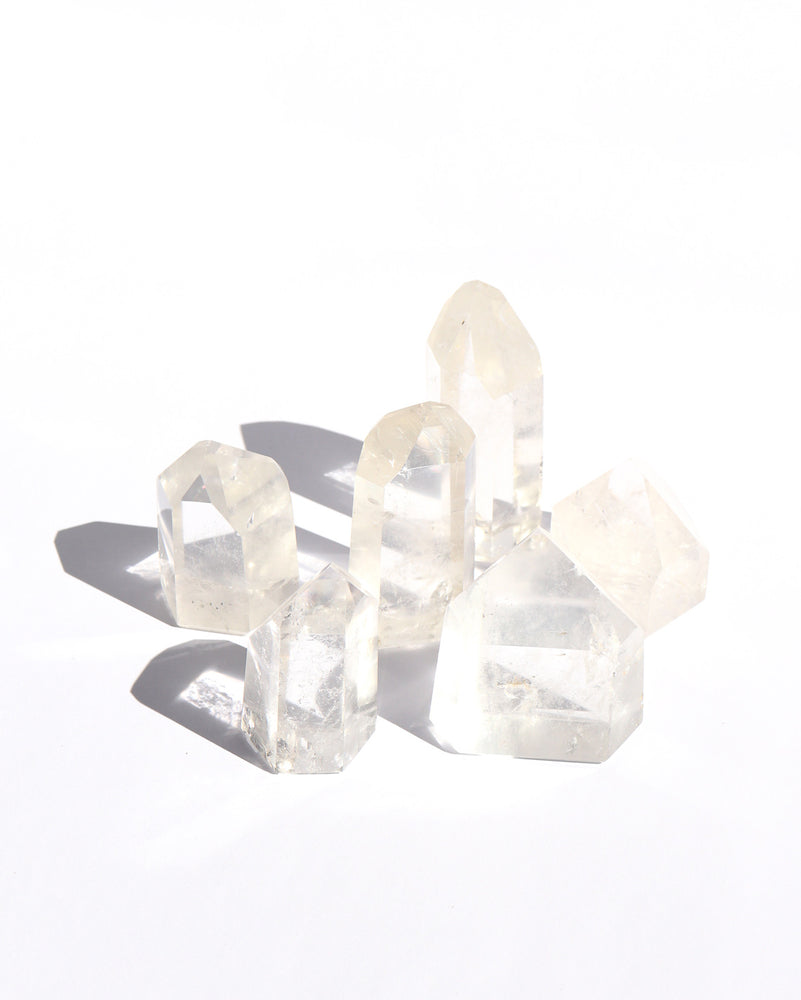 Clear Quartz Points - Anza Studio