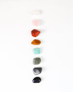 Rainbow Chakra Tumbled Stone Set - Anza Studio