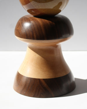 'Plume' Wood Crystal or Sphere Stand - Anza Studio