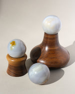 'Butte' Wood Crystal or Sphere Stand - Anza Studio