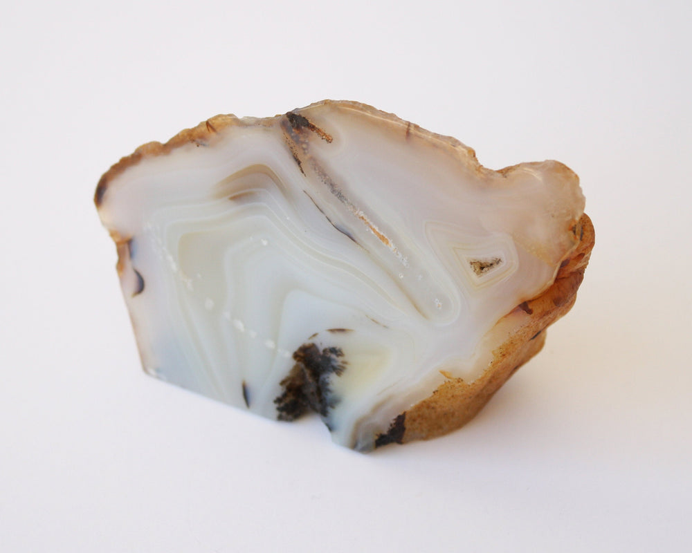 Agate Stand Up Polished Crystal - Anza Studio