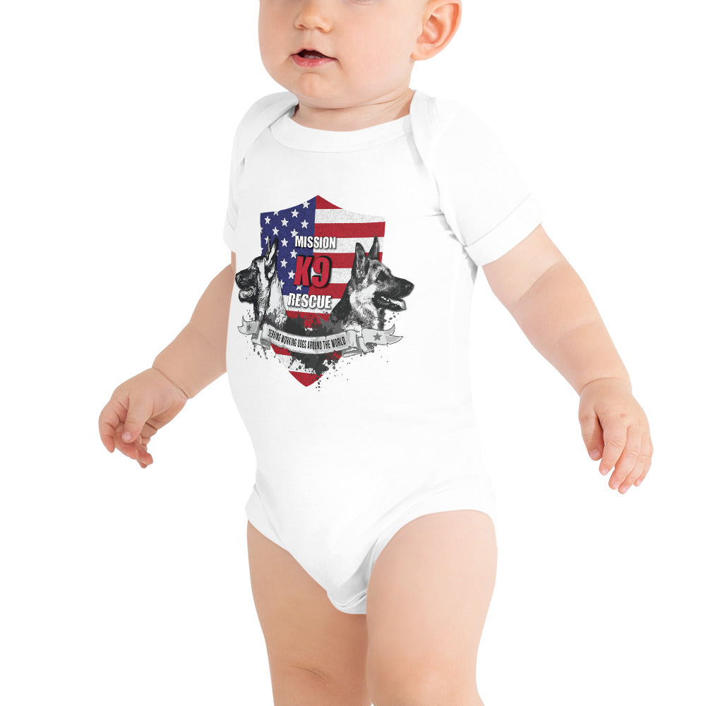 Mission K9 Rescue One Piece Baby Onesie