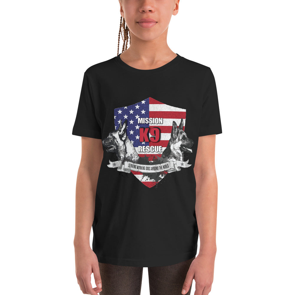 Mission K9 Rescue Youth Short Sleeve T-Shirt