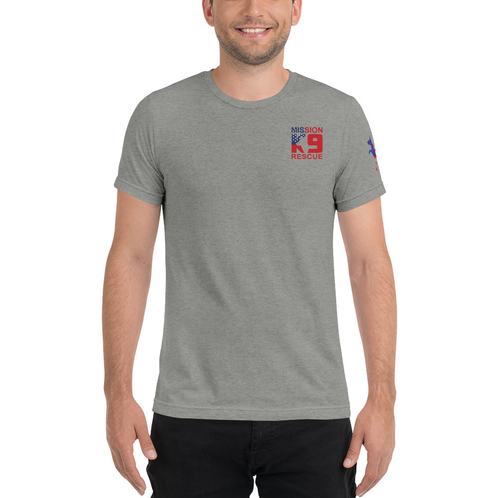 Mission K9 Rescue Men's Short Sleeve T-shirt