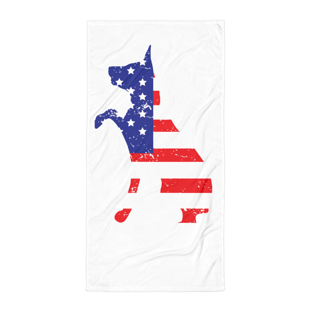 Mission K9  Beach Towel