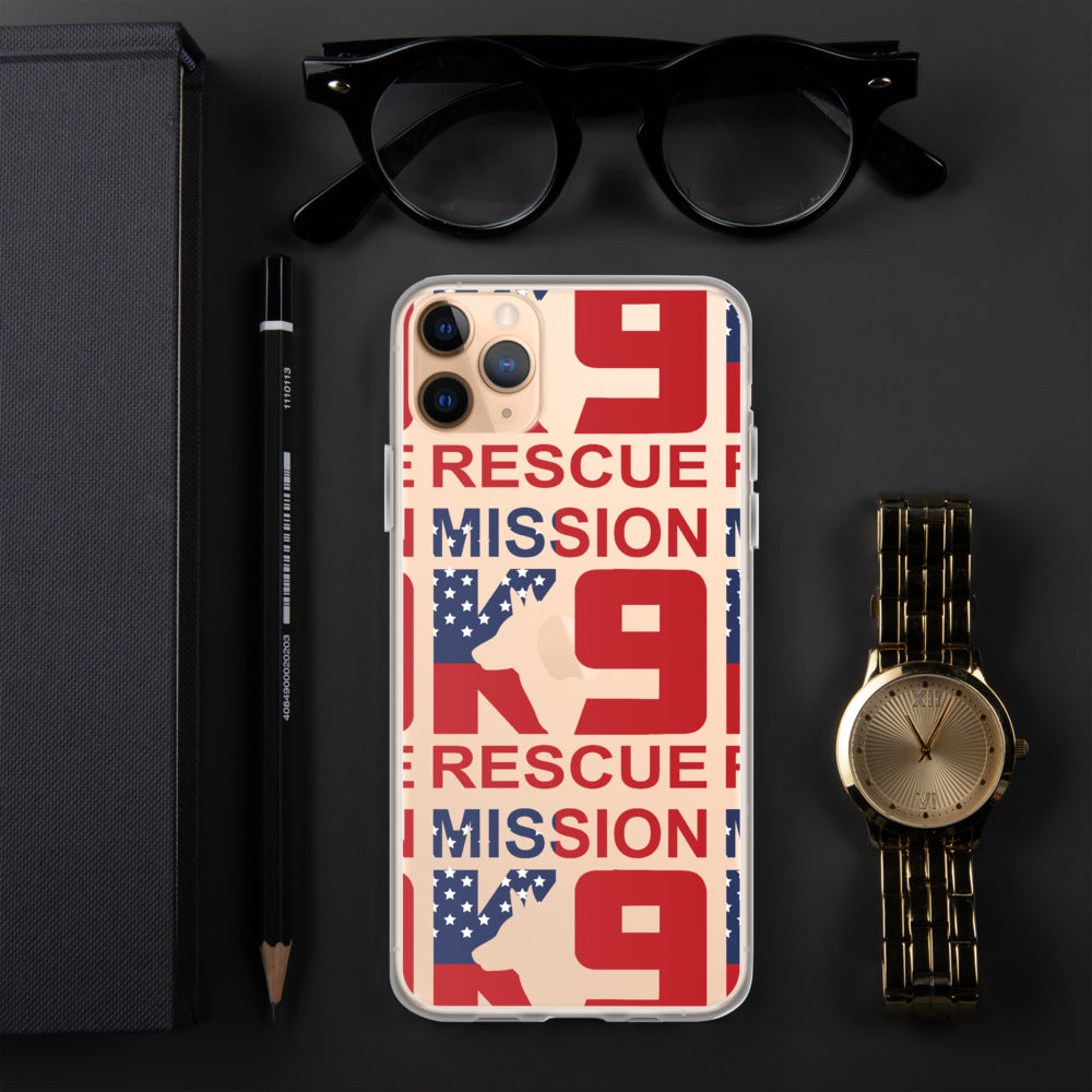 Mission K9 Rescue iPhone Case
