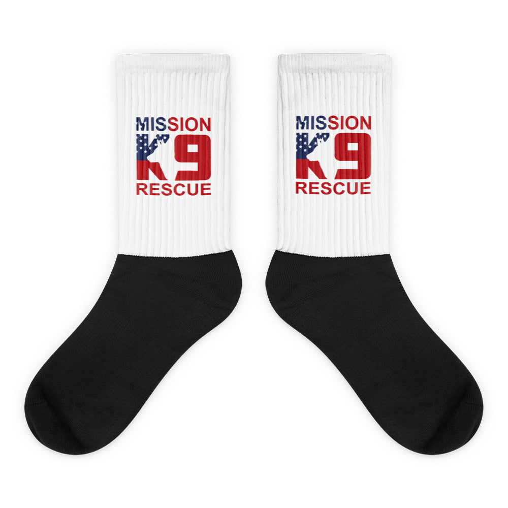 Mission K9 Rescue Socks