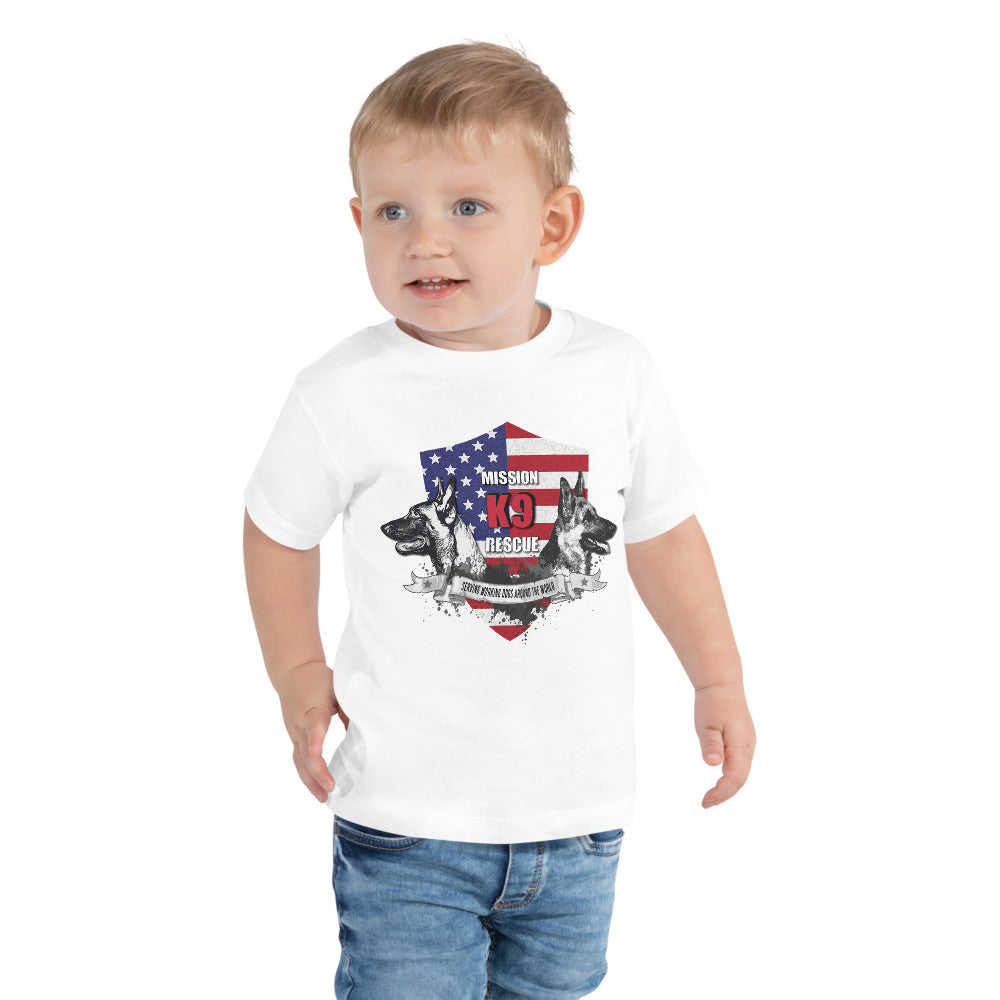 Mission K9 Rescue Toddler Short Sleeve Tee
