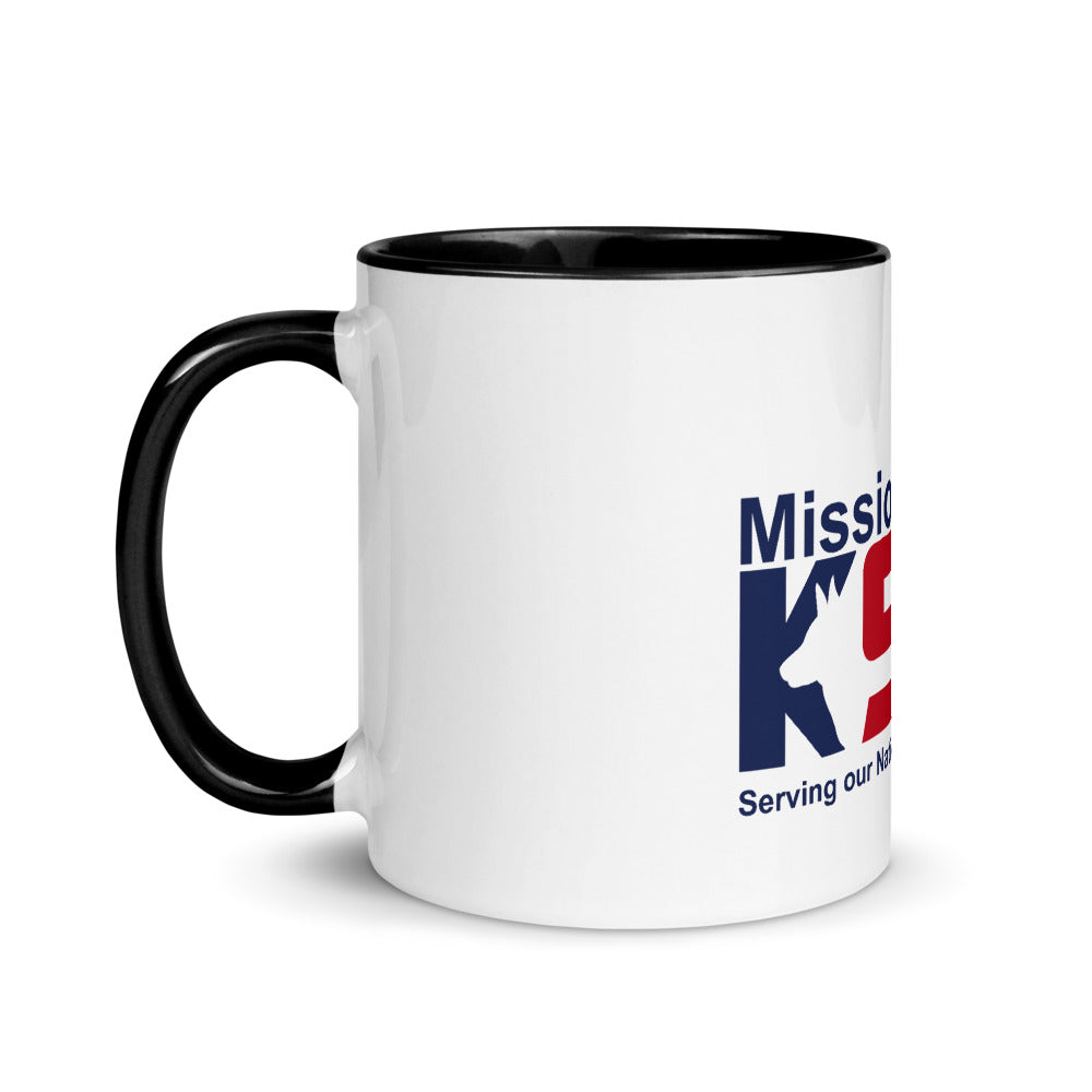 Mission K9 Rescue Mug with Color Inside